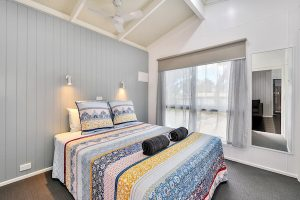 Get Your Cabin Sold beautifully styled bedroom