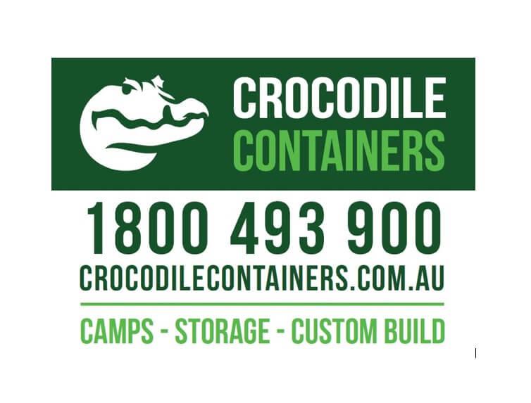 Crocodile Container Homes logo