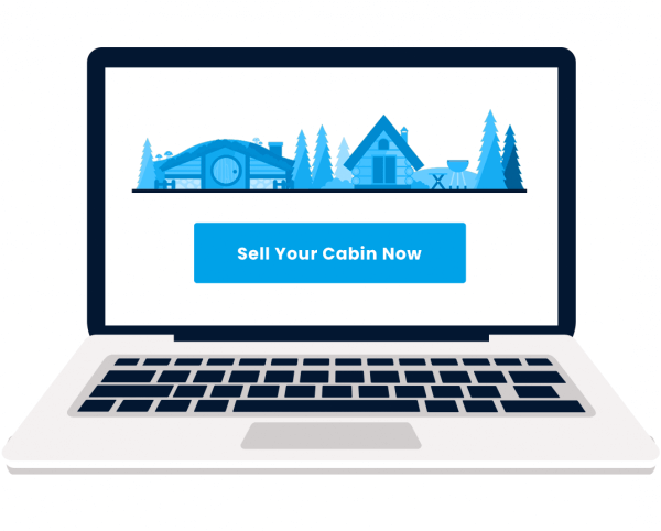 Sell Your Cabin computer screen