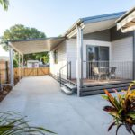 Over 50's Lifestyle Home - Townsville front deck and driveway with carport