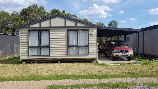 Site G18 - Eildon Waters Holiday Park