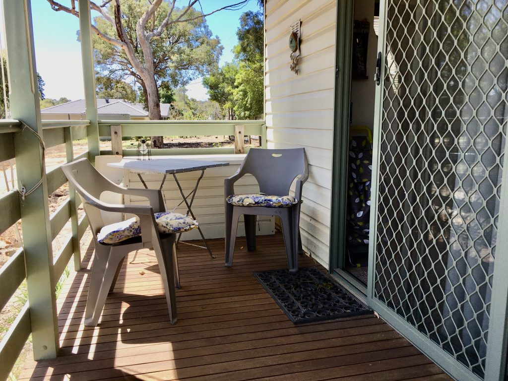 Jayco Cabin for Relocation - Anglesea deck